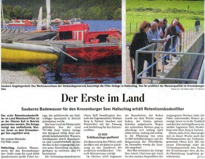 Backes Bau- und Transporte GmbH – Presse