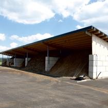 Backes Bau- und Transporte GmbH – Betonblock Backes: Lagerhalle