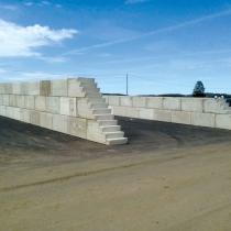 Backes Bau- und Transporte GmbH – Betonblock Backes: Fahrsiloanlagen