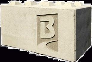 Betonblock-Backes