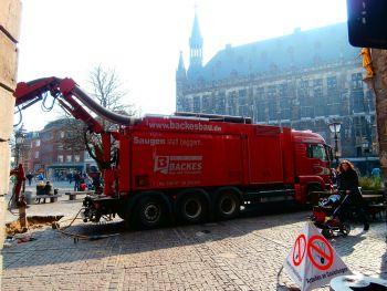 Backes Bau- und Transporte GmbH – Saugbagger